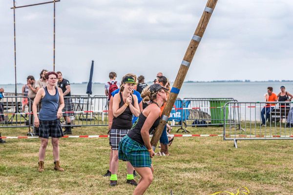HighlandGames By The Sea - Zeeland - Games - Weight of Height