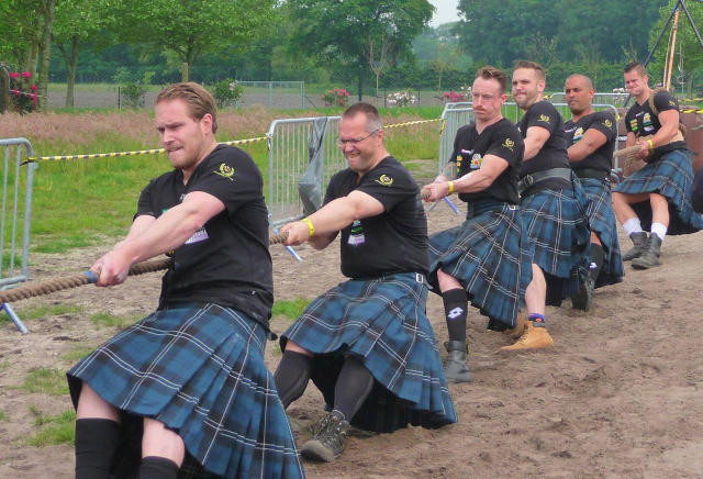 HighlandGames By The Sea - Games - Zeeland - Touwtrekken