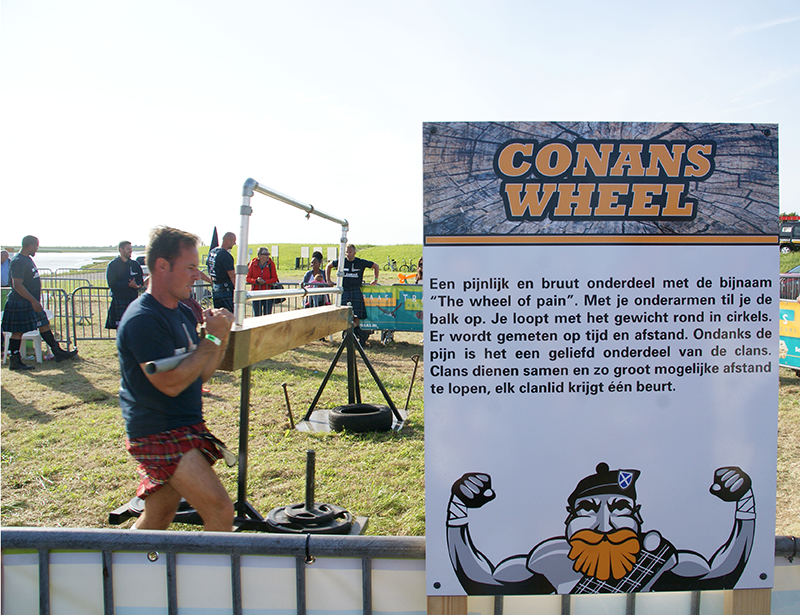 HighlandGames By The Sea - Games - Zeeland - Conans Wheel