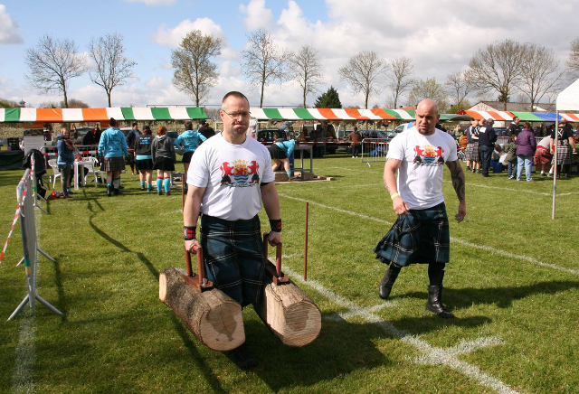 HighlandGames By The Sea - farmers walk